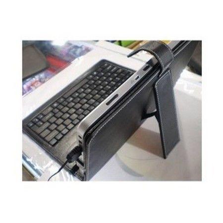 housse en pvc avec clavier integr 233 qwerty et stylet pour tablette 9 7 pouces informatique