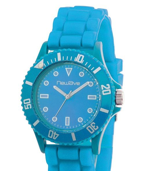 Montre analogique liverpool turquoise